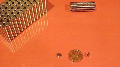 50 Strong Rare Earth Neodymium Disc Magnet 6 X 1.5mm 14 X 116 Inch Usa Ship