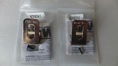 DeWALT 2 PACK Genuine Belt Clip Hook 20V Drill Driver N26824
