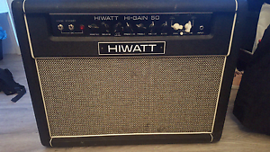 Hiwatt Higain 50 combo Guitar Tube Amp Emerton Blacktown Area Preview