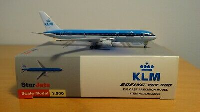 1/500  KLM Royal Dutch Airlines Boeing 767-300 StarJets SJKLM026