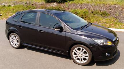 2009 Ford Focus LV Zetec Black 5 Speed Manual Hatchback