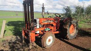 International 414 2wd tractor 45hp with front hay forks Balliang East Moorabool Area Preview