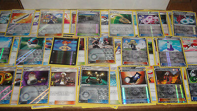 Pokemon 100 Card Trainer Lot - Supporters Stadiums Items Holos Sun & Moon XY