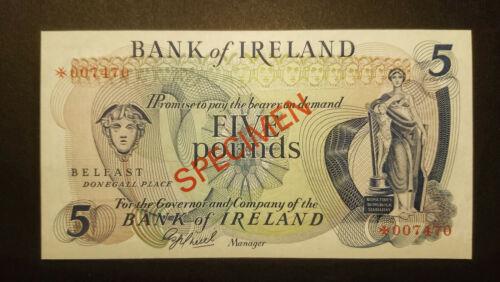 Ireland 5 pounds 1978 Belfast SPECIMEN UNC