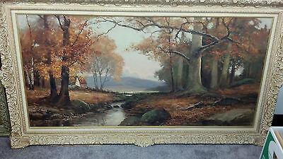 "Robert W. Wood Original Painting  ""AUTUMN IN WOODSTOCK"""