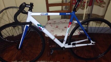 Cinelli Vigorelli track bike fixie fixed AS NEW  Marrickville Marrickville Area Preview