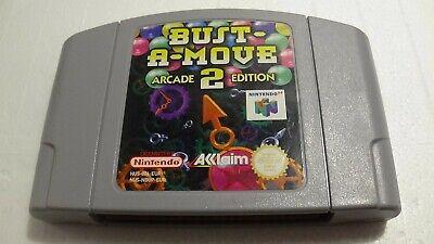 Bust-A-Move 2 Arcade Edition - Nintendo 64 N64