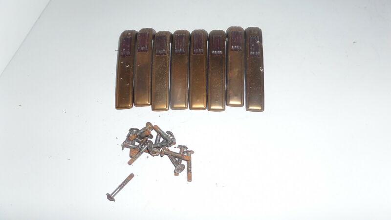 8 dresser handles / pulls vintage furniture  (C-1-2)