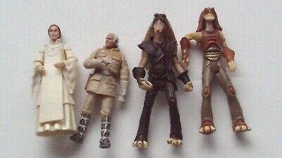 Star Wars Various Rebels & Gungans 4 Figures including Captain Tarpals