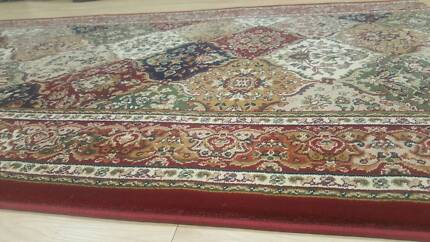 Red Traditional Hall-Runner, (Million Point Density Brunswick Moreland Area Preview