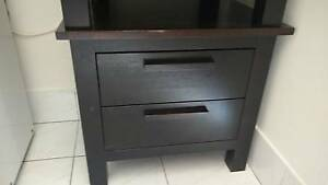 2 x wooden bedside drawers Ballajura Swan Area Preview