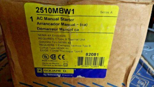 SQUARE D 2510MBW1 Manual Motor Starter