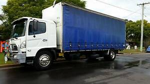 Hino 8 Tonne FG1J WIDE CAB with hydraulic full tail gate Worongary Gold Coast City Preview