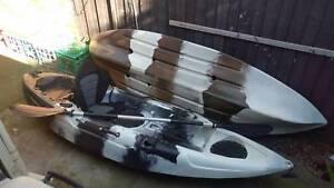 2.7M Single Fishing Kayak x2 Collingwood Yarra Area Preview