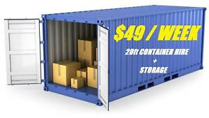 Shipping Container Hire PLUS Secure Budget Storage Deception Bay Caboolture Area Preview