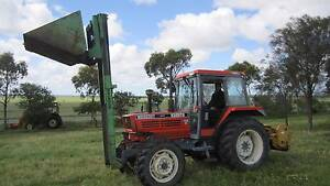 Kubota tractor M6950 with front loader and forklift Balliang East Moorabool Area Preview