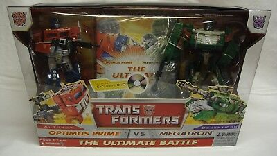 TRANSFORMERS THE ULTIMATE BATTLE OPTIMUS PRIME VS MEGATRON DVD NEW SEALED! (Transformers The Ultimate Battle)
