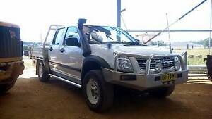 12/2009 Isuzu D-Max ute dual cab steel tray, snorkle, bullbar 4WD Moss Vale Bowral Area Preview