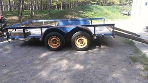 6 by 12 tandem utility trailer