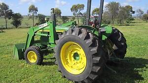 John Deere 2030 with front loader Balliang East Moorabool Area Preview