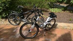 2 x Electric bikes