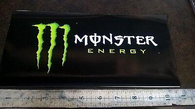 """11"""" x 5"""" Bogeyman Energy drink sticker  FREE SHIPPING"""