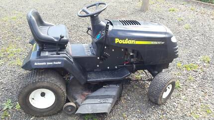 Poulan Ride-on mower in very good condition
