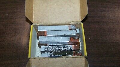 8 Gw Super Tool Co. Super Carbide Lathe Tool Bits Al7 C2 New Old Stock