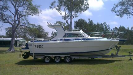 RANDELL Half Cabin Sports Cruiser 28ft Beaudesert Ipswich South Preview