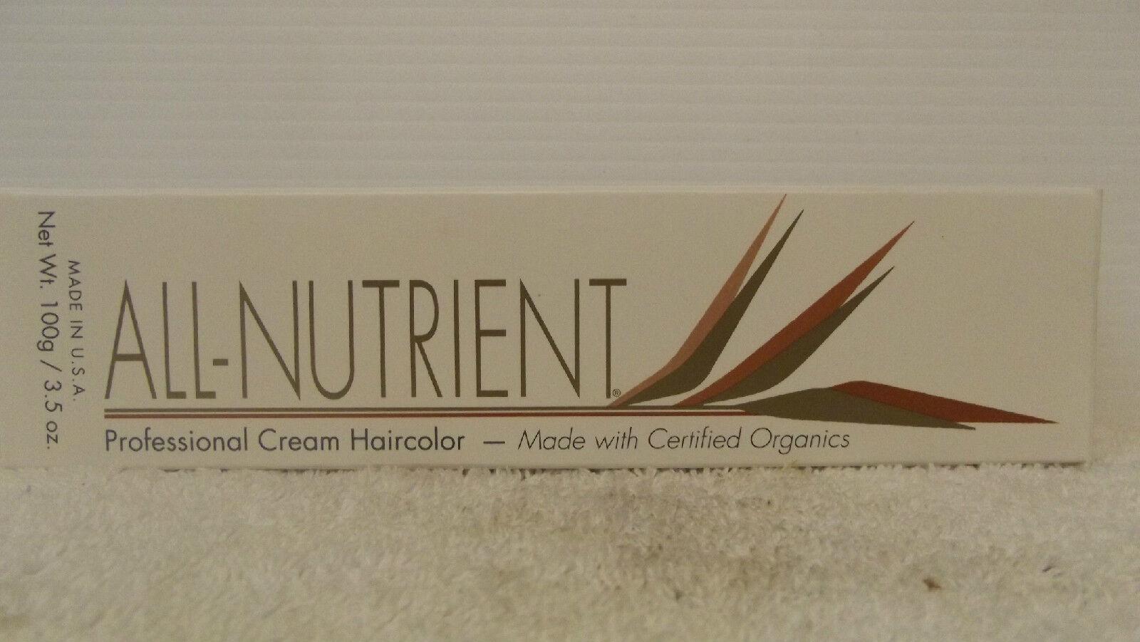 All Nutrient Professionell Creme Haarfarbe W / Botanisch Extrakte ~ 104ml (0 -