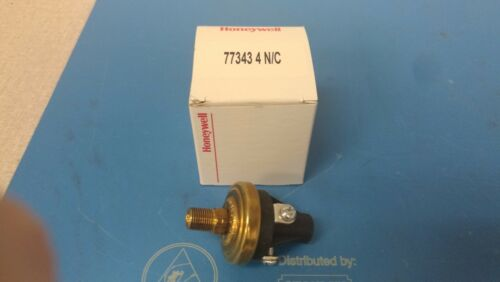 Honeywell 77343-4 N/C Pressure Sensor NEW