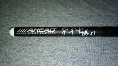 Def Leppard Logo & Rick Allen Signature Concert Tour Drum Stick Drumstick