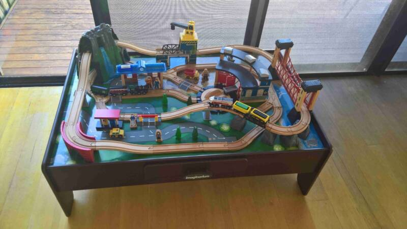 Imaginarium Mountain Rock Train Table Instructions Gallery ...