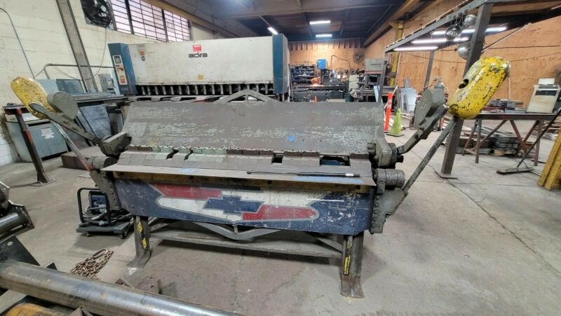 "12 Guage Finger Press Brake 60"" - L36 made in USA"