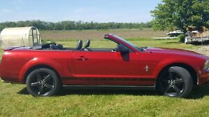 2008 ford mustang convertible pony package