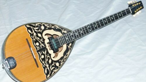 FARO ::  ACOUSTIC GREEK BOUZOUKI WITH MASTEX PICKUP W/ TRUSS ROD