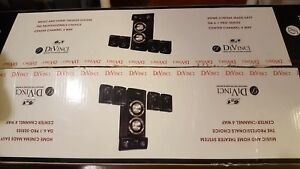 Brand new opened box DaVinci home speakers