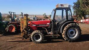 Case IH 2140 orchard tractor forklift 4wd cabin Balliang East Moorabool Area Preview