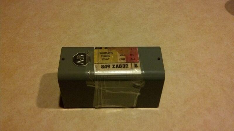 Allen Bradley 849-ZAD32 Pneumatic Timing Relay