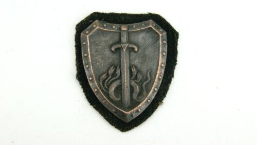 WW2 GERMAN GRUPPE HOCHLAND BADGE IN EXCELLENT CONDITION, 1939, RARE