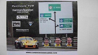 CARD LE MANS 24 HOURS : DEWALT TVR / STANTON JOHNSON HARTSHORN