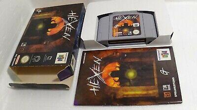 (ab 18) Hexen (deutsche Version) - Komplett/OVP Nintendo 64 N64