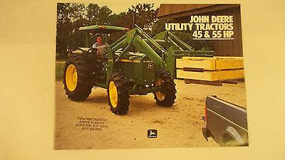 John Deere Utility Tractors 45 55 Hp Model 2150 2350 2150 Gp 2350 Gp