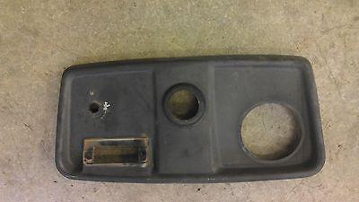 950 John Deere 950 Dash Plastic