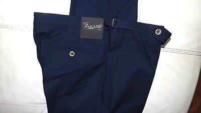 M.Pescarolo by Kiton Naples 2020 329,00 Cart.o Cotton Blue TG 52 7445654720769