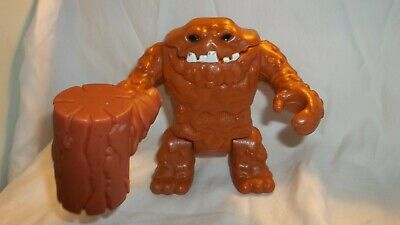 """Fisher Price Imaginext DC Comics Clayface Clay Face 5"""" Action Figure with Hammer"""