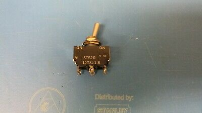 Honeywell 12ts11-8 Toggle Switch 3 Amp 125v New - On - Momentary On