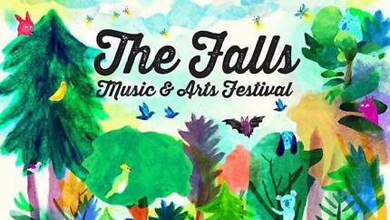SELLING 1x1 day Falls Festival Ticket Byron Bay 1st January 2017