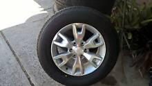 Ford Ranger Wildtrak Rims & Tyres Huntingdale Gosnells Area Preview