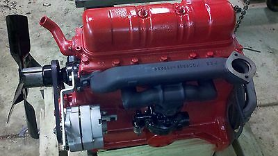 Ford Tractor 800 900 172 Cubic Inch Motor Engine Restored 2000 4000 801 821 841